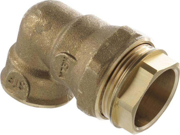 Muoviputken kulmaliitin Opal SK 1 x 32 mm MS