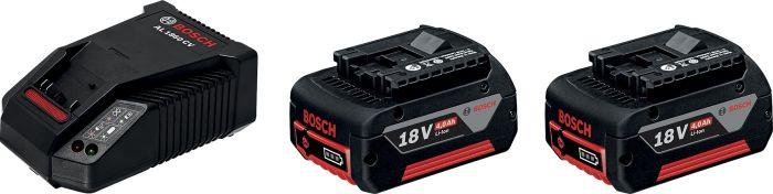 Akkupaketti Bosch 18 V 2 kpl