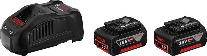 Akku ja laturipaketti Bosch 18 V 2 x 6,0 Ah Professional