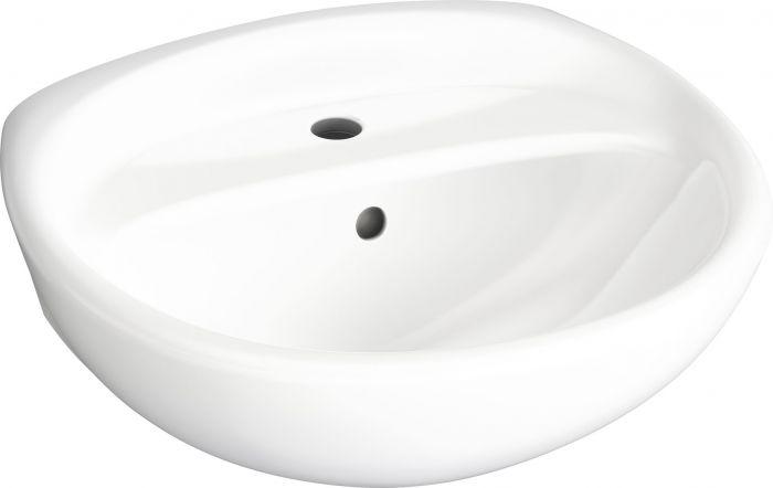 Pesuallas Gustavsberg Estetic C+ 50 x 42 Valkoinen