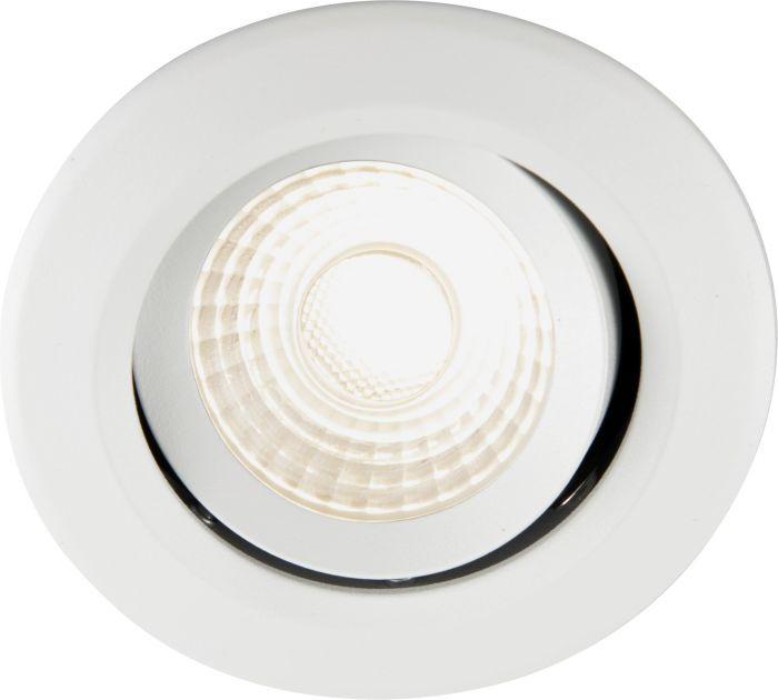 Uppospotti Ecolite Luna LED Valkoinen