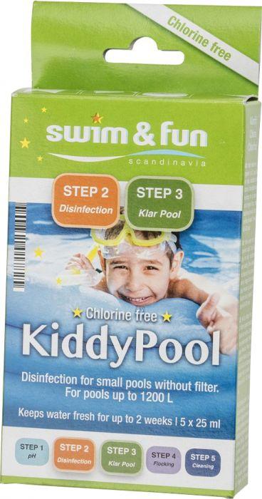 Puhdistuspakkaus Swim&Fun Kiddy Pool 5x25 ml