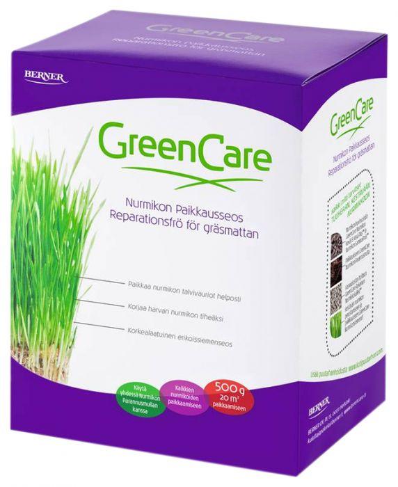 Nurmikon paikkausseos Greencare 500 g