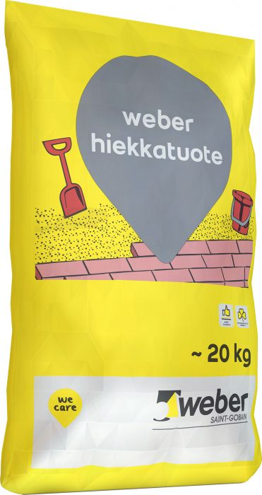 Puhallus- ja saumaushiekka Weber 20 kg