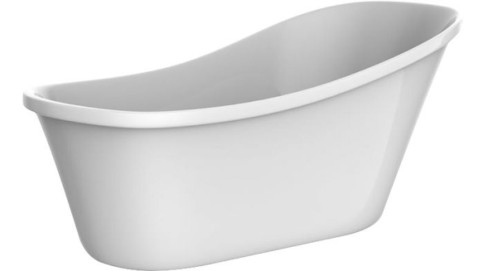 Kylpyamme Camargue Siljan 150 Valkoinen