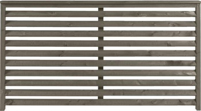 Aitaelementti Funkis harmaa 160 x 90 cm