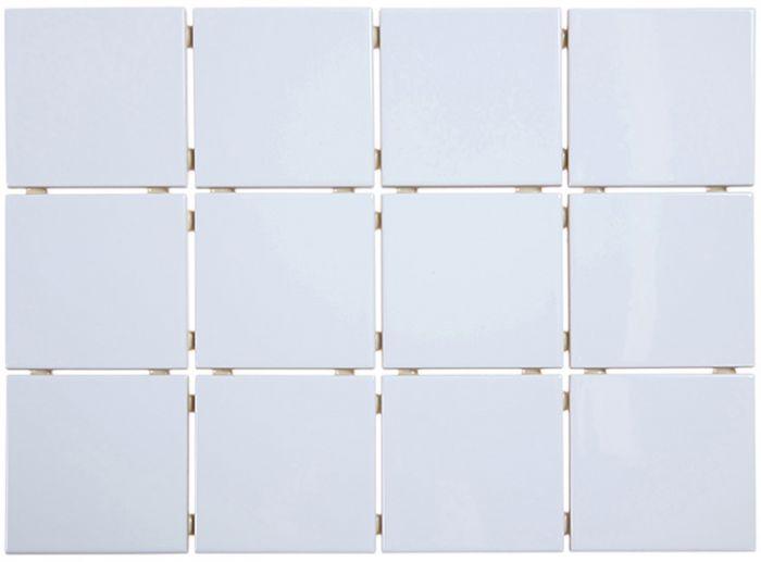 Seinälaatta Unitech 10 x 10 cm Kiiltävä