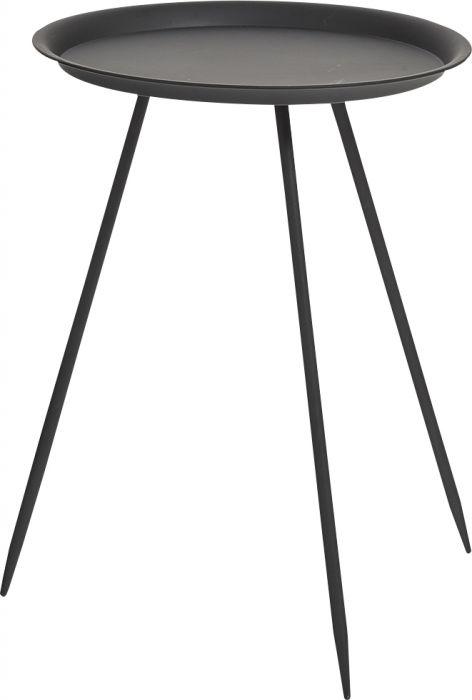 Pikkupöytä Pyöreä Zeller Ø 39 x 53,5 cm Musta