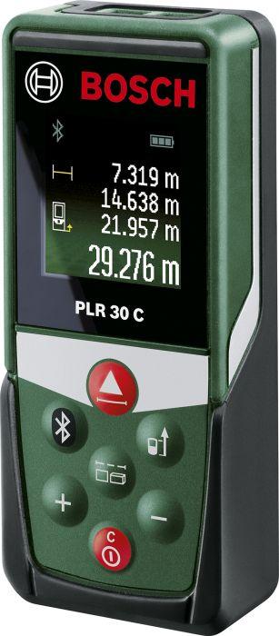 Laseretäisyysmittalaite Bosch PLR 30 C