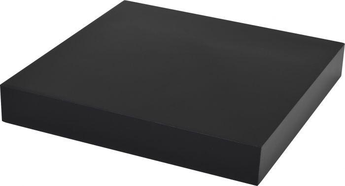 Hylly Duraline XL4 Musta 23,5 x 23,5 x 3,8 cm