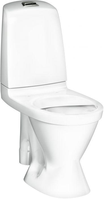 Wc-istuin Gustavsberg Nautic 1591 Hygienic Flush S-lukko