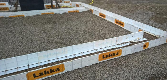 Anturamuotti Lakka AM26 250 x 600 x 5000 mm