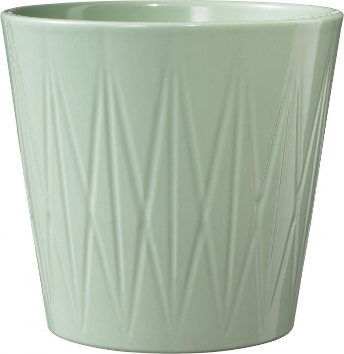 Suojaruukku Visby kiiltävä vihreä 16 cm