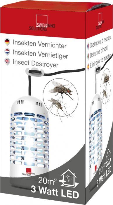 Elektroninen hyönteisansa 3 W LED Premium