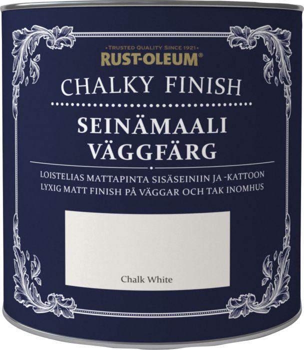 Seinämaali Chalky Finish 2,5 l Chalk White
