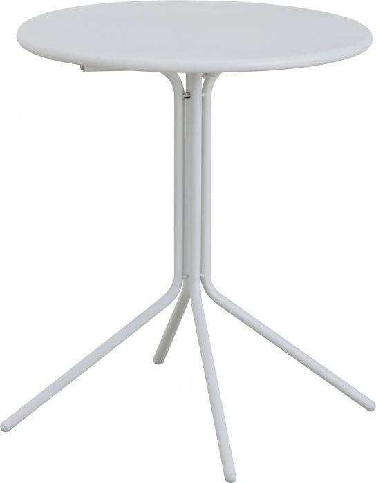 Parvekepöytä Sunfun 60 cm valkoinen