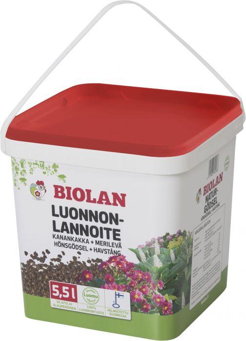 Luonnonlannoite Biolan 5,5 l