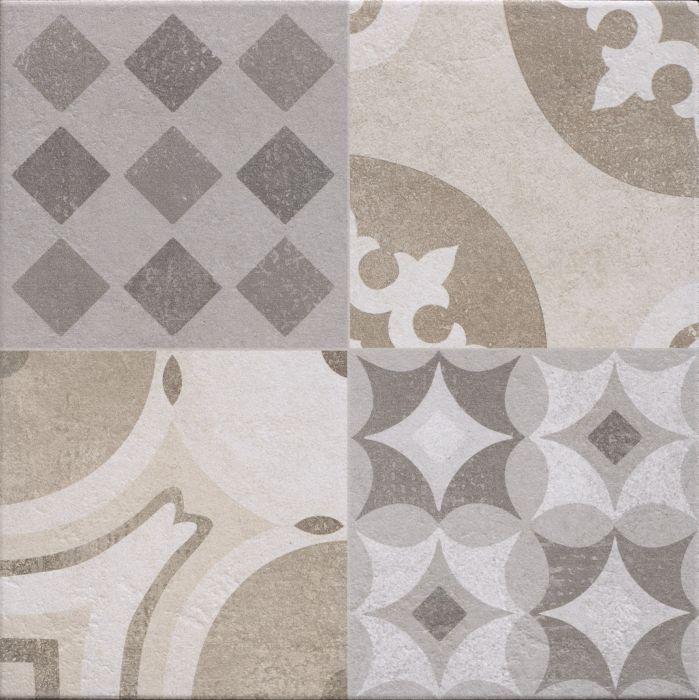 Seinä/lattialaatta Cementina Bicolor