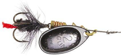 Lippauistin Normark Mepps Aglia Fly Musta 2