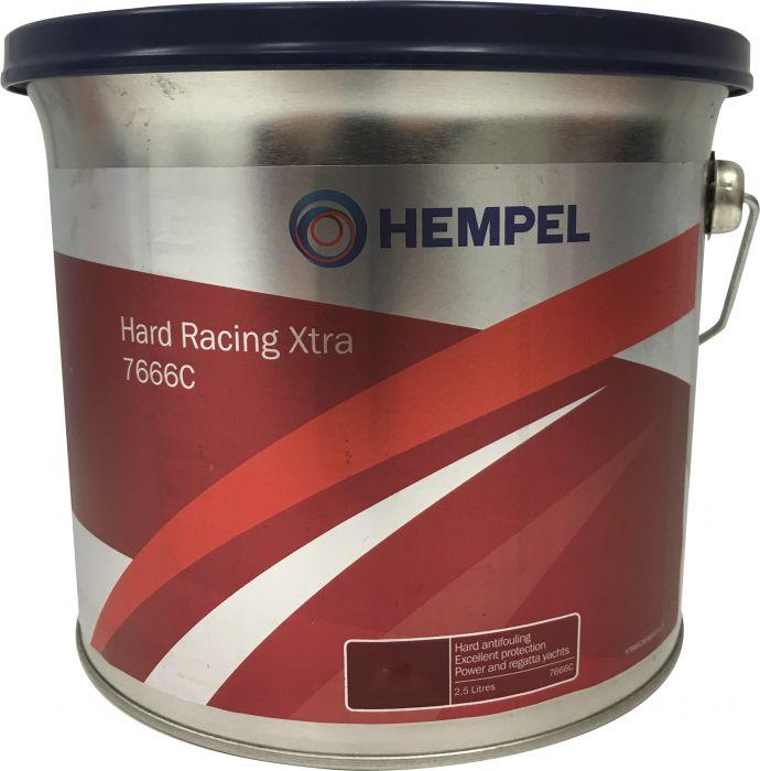 Kova Antifouling-maali Hempel Hard Racing Xtra 7666C Grey 2,5 l