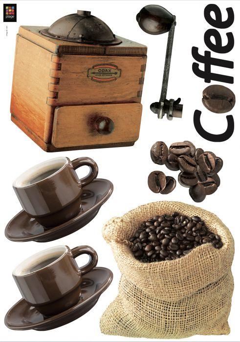 Julistetarra Plage Kahvi