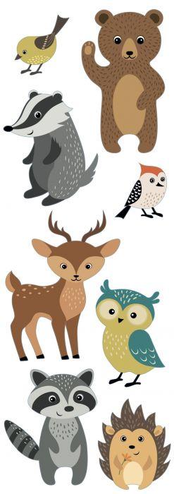 Julistetarra Plage Metsän Eläimet
