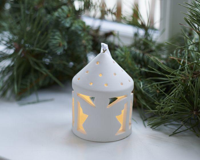 LED-kynttilälyhty Sirius Olina enkeli