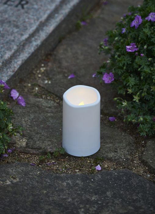 LED-hautakynttilä Sirius Theo 12,5 cm