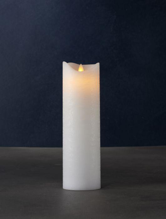 LED-kynttilä Sirius Sara valkoinen 25 cm