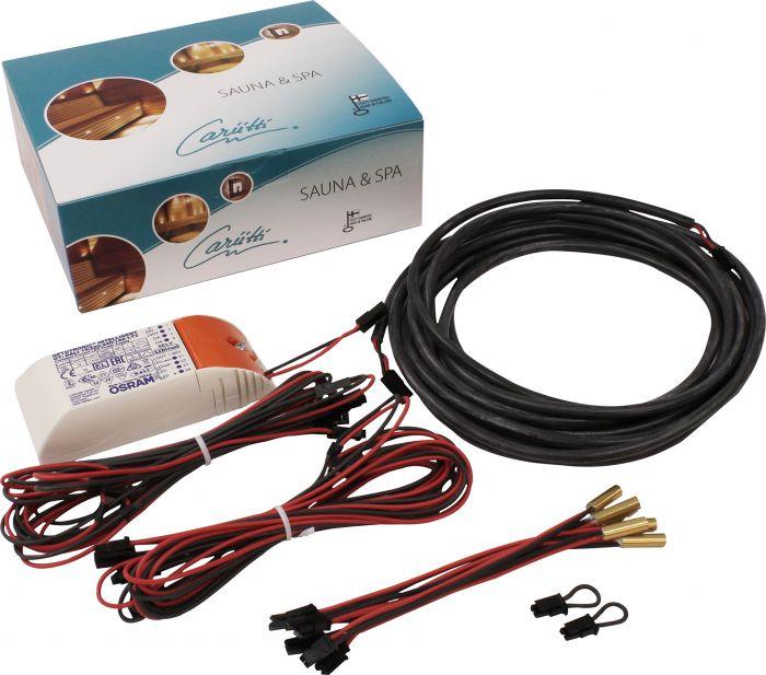 Sauna LED-sarja Cariitti 6-os