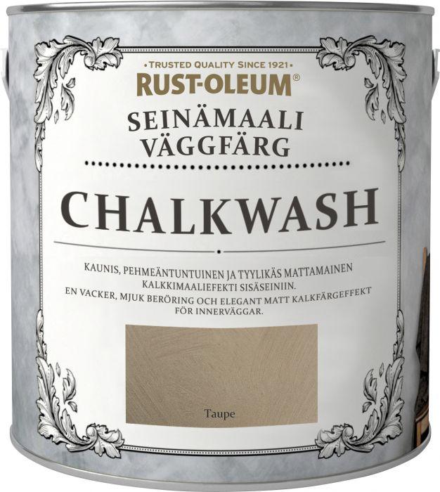 Seinämaali Rust-Oleum Chalkwash Taupe 1 l