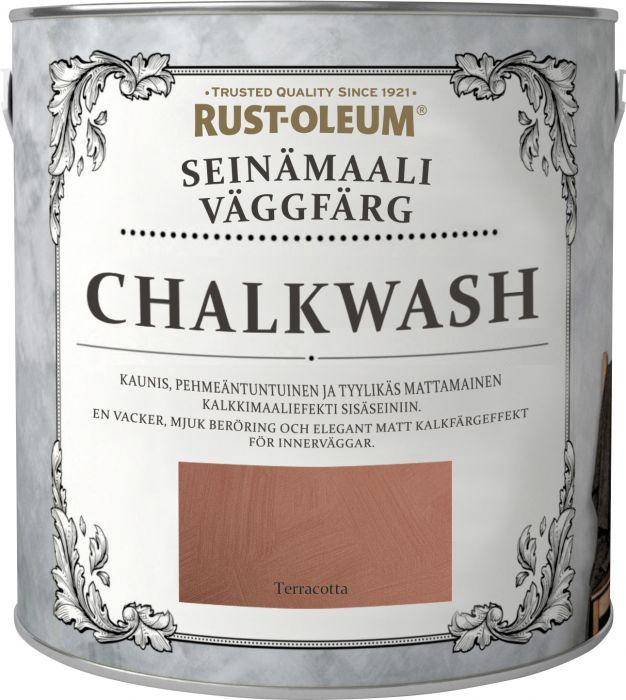 Seinämaali Rust-Oleum Chalkwash Terracotta 1 l