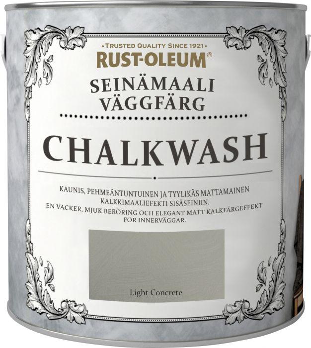 Seinämaali Rust-Oleum Chalkwash Light Concrete 1 l