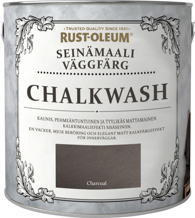 Seinämaali Rust-Oleum Chalkwash Charcoal 1 l