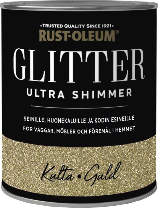Sisustusmaali Rust-Oleum Ultra Glitter Gold 750 ml