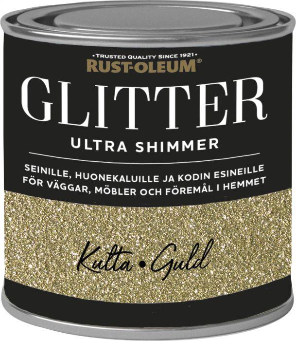 Sisustusmaali Rust-Oleum Ultra Glitter Gold 250 ml