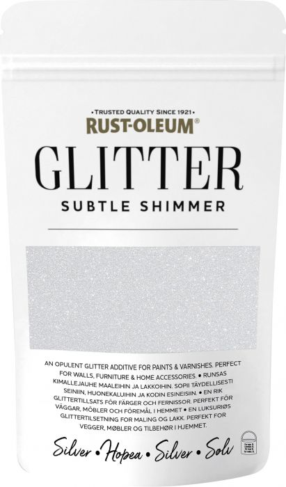 Glitter Jauhe Rust-Oleum Silver