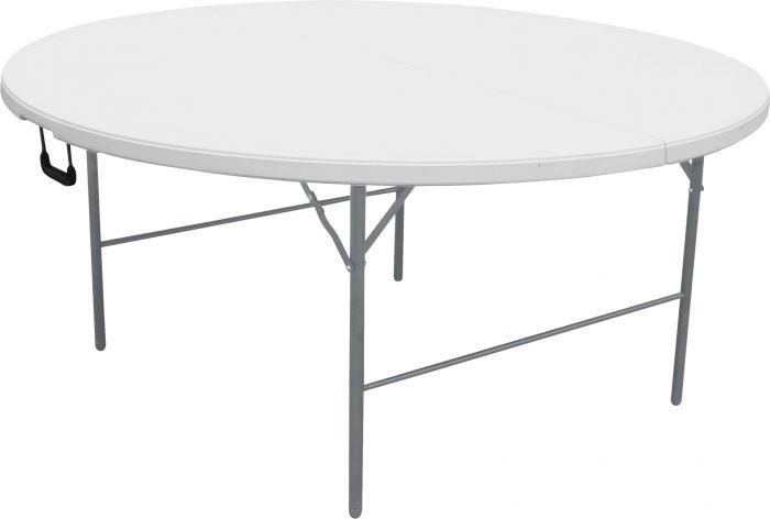 Taittopöytä pyöreä 160 x 74 cm