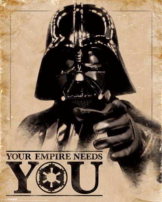 SIsustustaulu Reinders Empire Needs You