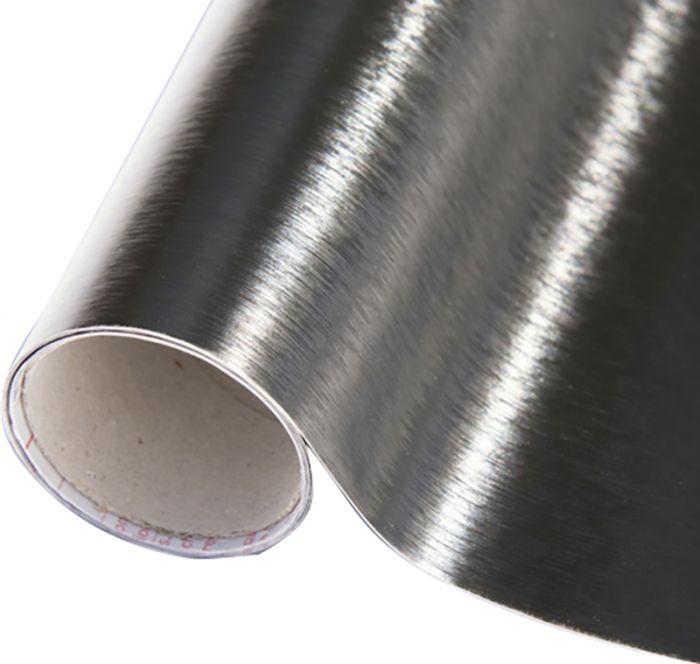 Kontaktimuovi Metalli Musta 67,5 x 150 cm