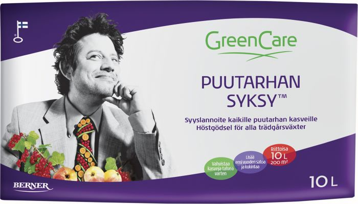 Puutarhan Syksy Greencare 10 l