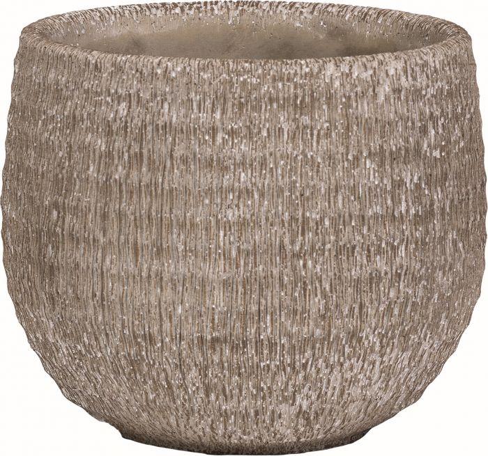 Ruukku viirukuvio hiekka 15 cm