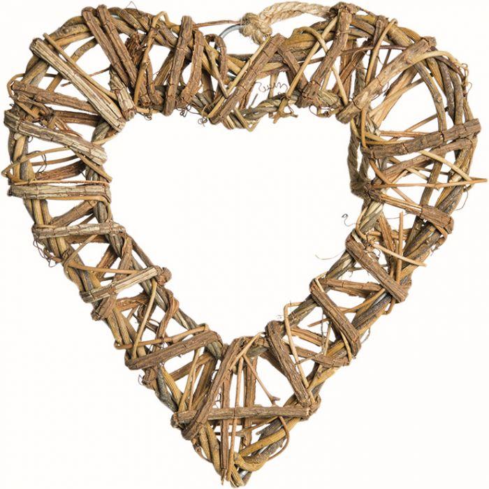 Joulukoriste sydän 20 cm