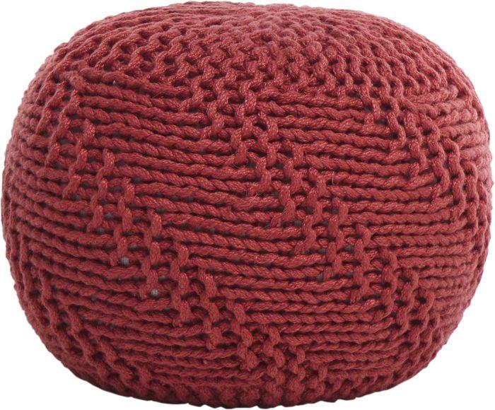 Istuinrahi Sunfun kudottu punainen