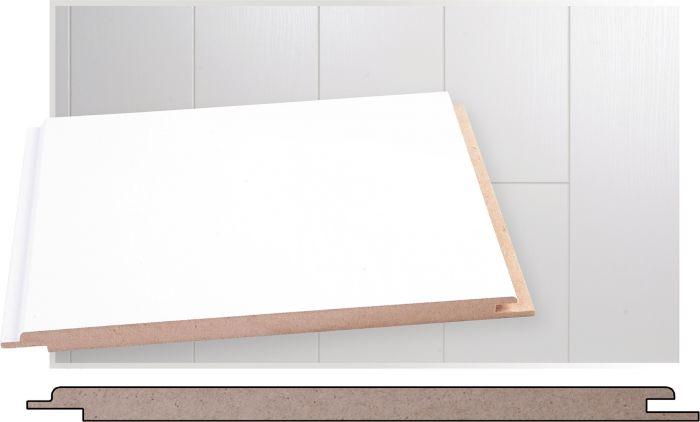 Paneeli Maler Kide MDF Valkoinen STP 10 x 195 x 2070 mm