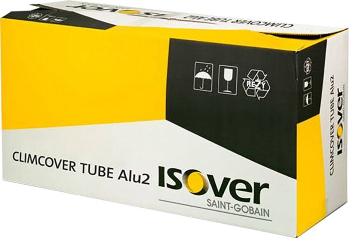 Kanavaeriste Isover Climcover Tube Alu2 125 x 50 x 1200 mm