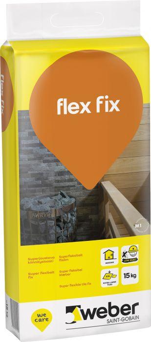 Kiinnityslaasti Weber Flex Fix 15 kg