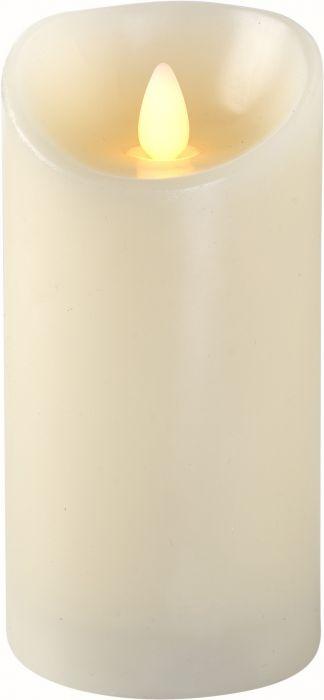 LED-kynttilä Airam Sandra 15 cm valkoinen