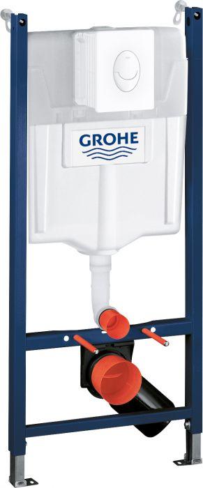 Seinä-WC Asennusteline Grohe Rapid SL 3-in-1
