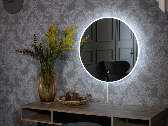 LED-valopeili Avonia Pyöreä
